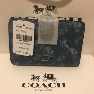 コーチ 87936 ホースアンドキャリッジ ミディアムウォレット 二つ折り財布