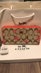 コーチ財布COACH/コーチ長財布 F51339 フローラル女性財布