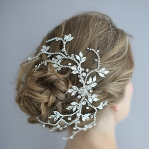 新品 ヘッドドレス 髪飾り ヘアアクセサリー 最高の結婚式に AT10282 花嫁 ヘッドアクセサリー ウエディングUZ83