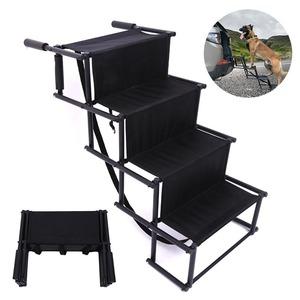 新品 はしご ペット おすすめ 階段 suv 犬 トラック Black 車 ベッド ペット品 ステップ ペット ATYV15