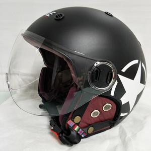 バイク 自転車 ジェット キャップ ヘルメット L サイズ 新品 在庫 格安 価格 処分 即日 1 スタート v203 最落 設定 なし 9