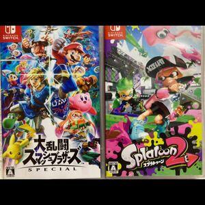 スプラトゥーン2 Switch ニンテンドースイッチ 大乱闘スマッシュブラザーズ special スマブラ 任天堂Switch