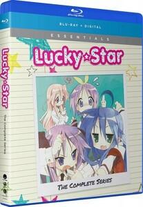 【送料込】らき☆すた 全24話+OVA(北米版 ブルーレイ) Lucky Star: Complete Series+OVA blu-ray BD