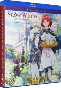 【送料込】赤髪の白雪姫 全24話[第1+2期] (北米版ブルーレイ) Snow White with the Red Hair blu-ray BD