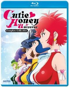 【送料込】キューティーハニー ユニバース 全12話 (北米版 ブルーレイ) Cutie Honey Universe blu-ray BD ②