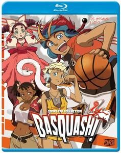 【送料込】バスカッシュ! 全26話 (北米版 ブルーレイ) Basquash! blu-ray BD