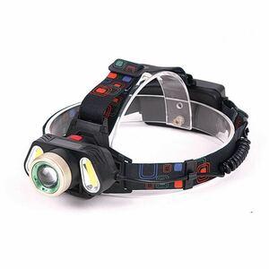 LEDヘッドライト ヘッドランプ USB 電池付 高輝度 作業灯 夜釣り 登山 充電式 軽量 作業灯 ワークライト