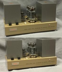 中古品 管球式モノラルパワーアンプ UESUGI 上杉研究所 U・BROS-120R ペア