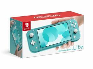 新品未開封【本日発送】Nintendo Switch Lite [ターコイズ] 任天堂 ニンテンドー スイッチライト