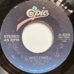 【試聴 7inch】Mtume / Juicy Fruit 7インチ 45 muro koco フリーソウル The Notorious B.I.G. Warren G Jennifer Lopez