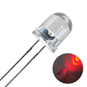 Kaito1712(1000個入り) LED 8mm 赤色 8000~10000mcd