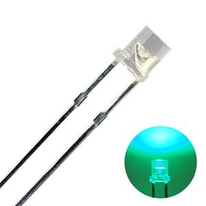 Kaito2003(50個入り) LED CUT 3mm 緑色 800~1200mcd