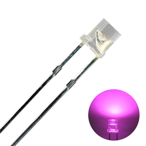 Kaito2006(50個入り) LED CUT 3mm ピンク色 300~400mcd