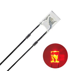 Kaito2205(100個入り) LED FLAT 3mm 赤色 150~200mcd