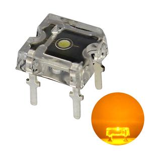 Kaito3014(1000個入り) FLUX LED フラット 黄色 300~450mcd