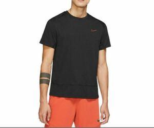 ナイキメンズショートスリーブトレーニングトップNIKEスポーツフィットネスジムトップス半袖Tシャツ
