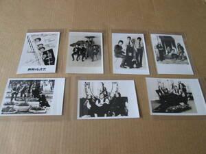 ★ ビートルズ THE BEATLES★ プロモーション写真 7枚 ★ 東芝音楽工業