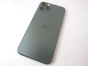 現状渡し/FaceID不良★SIMロック解除済 iPhone 11 Pro[MWC62J/A]64GB グリーン ドコモ■simフリー スマホ 本体