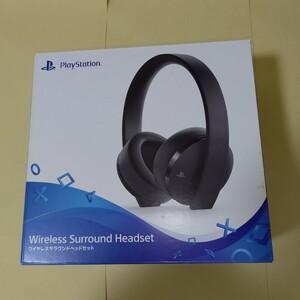 PS4 ワイヤレスサラウンドヘッドセット (CUHJ-15007) プレイステーション4 プレステ5