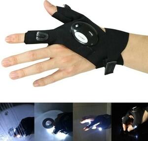 【便利グッズ】 両手セット LEDライト フィンガーライト アウトドア