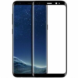Galaxy S8 Plus SC-03J SCV35 6.3インチ 枠黒色 全面保護 3D曲面カバー 9H 0.26mm 強化ガラス 液晶保護フィルム 2.5D K356
