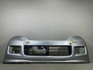 JF1/JF2 N-BOX カスタム 純正 フロントバンパー ロアグリル (NH700M アラバスターシルバーメタリック) 71100-TY0-N000 D0920-7