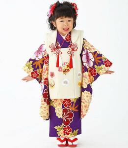 [京の舞姿]七五三女の子3歳着物9点セットtmsb04