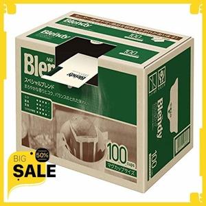 新品最?0%オフ★ AGF ブレンディ レギュラーコーヒー ドリップパック スペシャルブレンド 100袋 【 ドリッB4MH