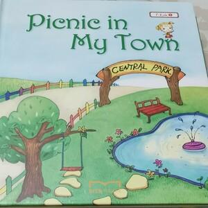 英語絵本セット  Picnic in my town English 音声動画付き