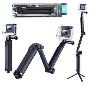 【送料無料】 GoPro 対応 自撮り棒 アクセサリー マウント 水中 防水構造 自撮り棒 アクセサリー カメラの三脚マウント