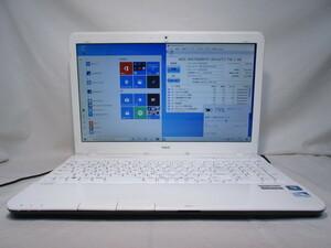 NEC LaVie S LS150/HS6W PC-LS150HS6W Pentium B970 2.3GHz 4GB 750GB 15.6インチ DVD作成 Win10 64bit Office USB3.0 Wi-Fi HDMI [80017]