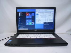 富士通 LIFEBOOK A574/M FMVA1000F Celeron 2950M 2.0GHz 4GB 320GB 15.6インチ Win10 64bit Office USB3.0 Wi-Fi HDMI [80086]