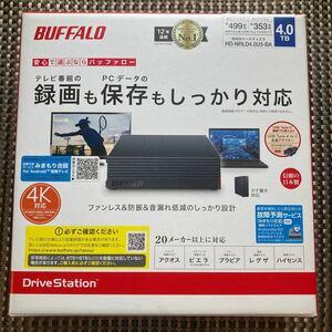 外付けハードディスク HD-NRLD4.0U3-BA