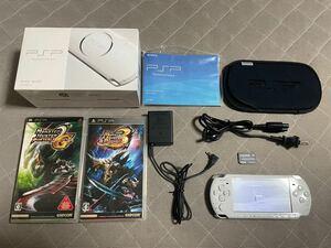 PSP-3000 ホワイト 8GB 比較的美品 2