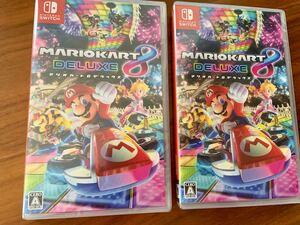 【新品】 マリオカート8デラックス Nintendo Switch ソフト 2本セット