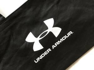 【送料無料】 アンダーアーマー 不織布 トートバッグ ファスナー付 ショップ袋 福袋(空)UNDER ARMOUR 黒