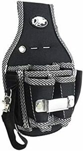 ワンタッチベルト(4cm幅) 工具用ウエストバッグ 大工 電工用 作業効率の良い機能設計 工具差し 工具袋 ポーチ腰袋 ベルトポ