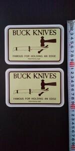 バックナイフ BuckKnives ステッカー
