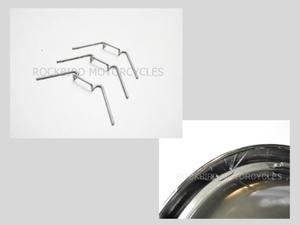 クリックポストOK ヘッドライト レンズ クリップ / ヘッドライトのリムにレンズを固定するクリップ / ルーカスレンズやクラシックレンズに