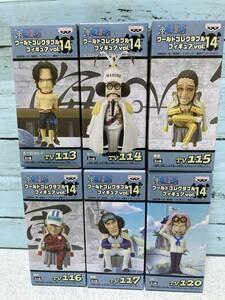 【未開封品】ワンピース ワールドコレクタブルフィギュア vol.14 三大将 ワーコレ