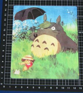 ◆となりのトトロ とびだすトトロ 立体カード◆ジブリいっぱいコレクション スタジオジブリ 宮崎駿