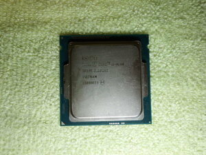 used CPU Core i34160 3.60GHZ operation not yet verification Junk