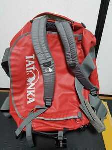 (使用少)TATONKA タトンカ バレル 65L ダッフルバッグ ボストンバッグ リュックサック