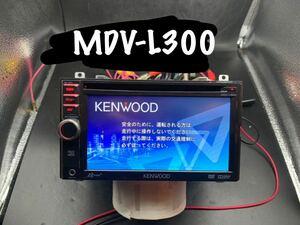 1円売切★KENWOOD ケンウッド ワンセグ メモリー ナビ MDV-L300 地図データ 2012年 USB