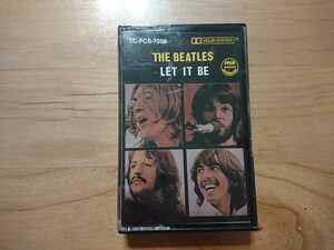★ビートルズ The Beatles ★レット・イット・ビー Let It Be ★カセットテープ ★中古品