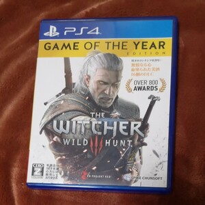 ウィッチャー3 ワイルドハント ゲームオブザイヤー エディション WITCHER3 PS4 WILD HUNT GAME YEAR