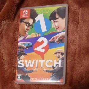 任天堂Switch ワンツースイッチ Nintendo 1-2-Switch 12switch ワン・ツー・スイッチ