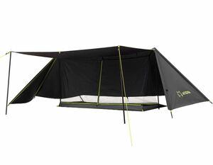 ATEPA パップテント 軍幕 キャンプ 1人用 4シーズン適用 ソロ テント 多機能 軽量 遮光 防風 防水3000mm