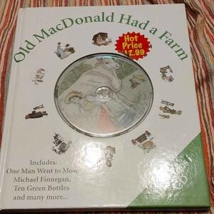 CD付 OLD MACDONALD HAD A FARM 外国絵本 子供の歌