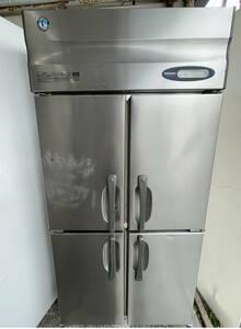 【動作確認済】HOSHIZAKI ホシザキ 業務用冷蔵庫 HR-90Z3-ML 4ドア 4面 2014年製 W900mm×D800mm×H1930mm 3相 200V 厨房機器 店舗用 中古